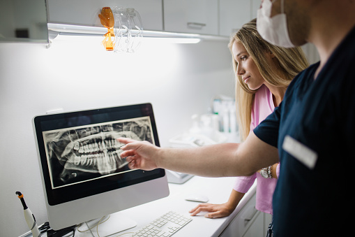 Digital X-Rays at Madison Oral Surgery & Dental Implants in Madison, WI.